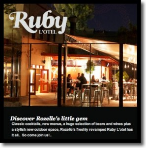 Breakfast review of Ruby L'Otel Rozelle, open Saturday & Sunday