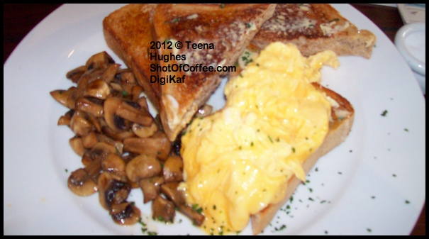 Review of Digikaf cafe - scrambled eggs in Glebe (Sydney)
