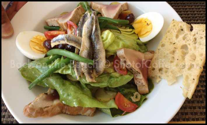 Seafood Salad looks delicious