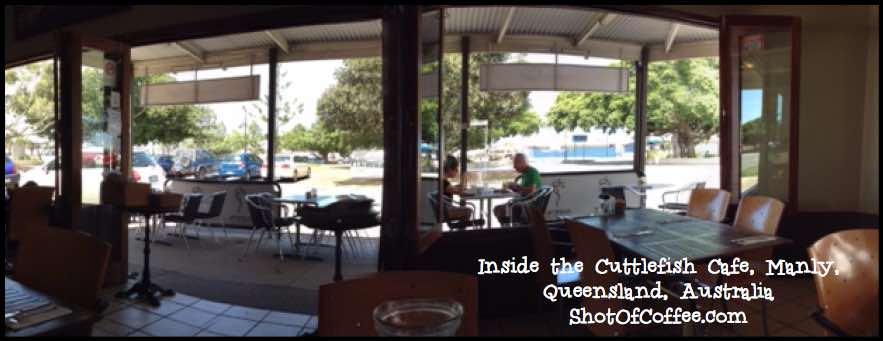 Inside Cuttlefish Cafe