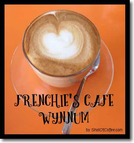 Frenchies Cafe in Wynnum - the latte