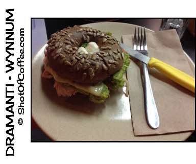 Dramanti Artisan Roaster - Chicken Avocado Bagel